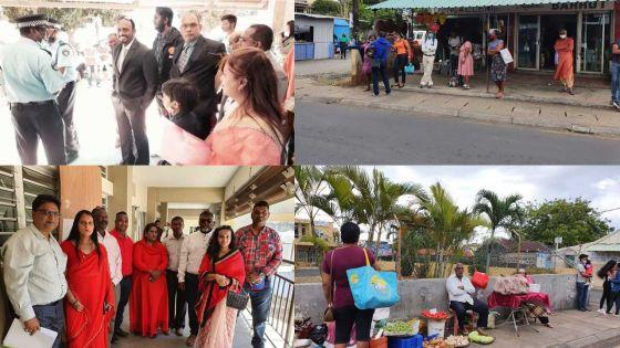 [En images] Nomination Day des élections villageoises : l'ambiance à Triolet