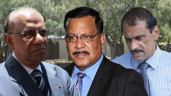 [Breaking News] Affaire Roches-Noires : les accusations contre Ramgoolam, Jokhoo et Sooroojbally rayées