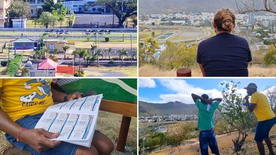 Maiden Cup 2021 à huis clos : des turfistes assistent aux courses à la Citadelle