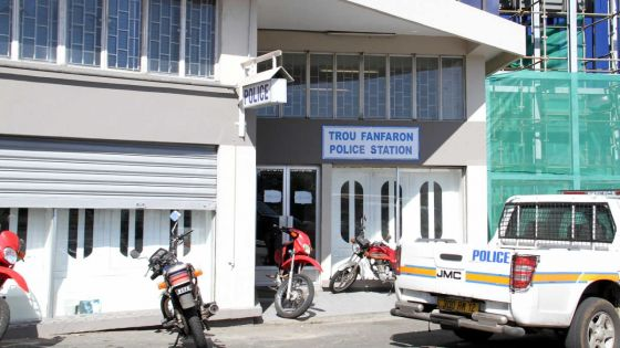 Poste de policede Trou-Fanfaron : un policier en sentinelle victime d'une agression