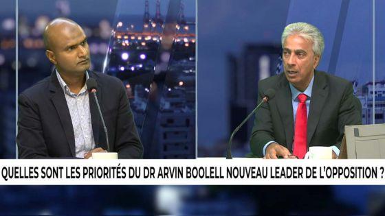 Au Coeur de l'Info : quelles sont les priorités du Dr Arvin Boolell nouveau leader de l'opposition ?