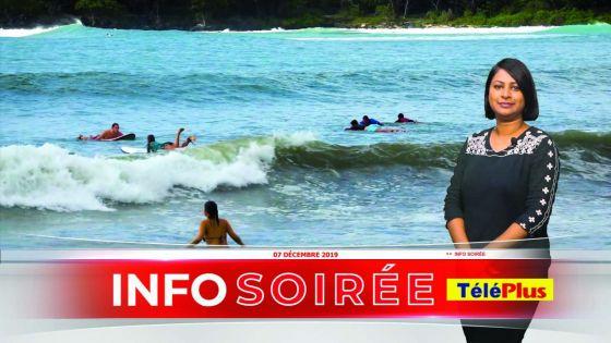 [Info Soirée] : mer déchaînée pour le plus grand plaisir des surfeurs
