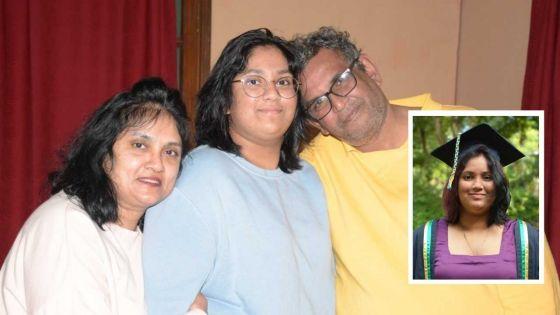 Janvi Riya Juwaheer réussit son baccalauréat à 16 ans