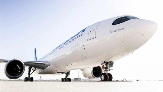 Réouverture des frontières : Corsair lance cinq vols par semaine