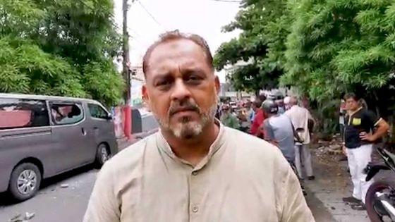 Reza Uteem : « Il faut sanctionner les policiers qui ont lancé le gaz lacrymogène »