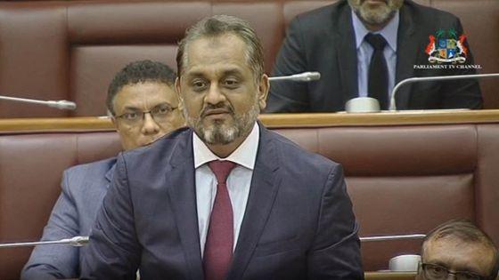 Débats budgétaires : Reza Uteem : «La Banque centrale doit opérer de manière autonome »