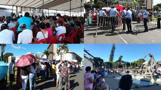Centre de vaccination au Plaza : plusieurs personnes priées de rentrer chez elles
