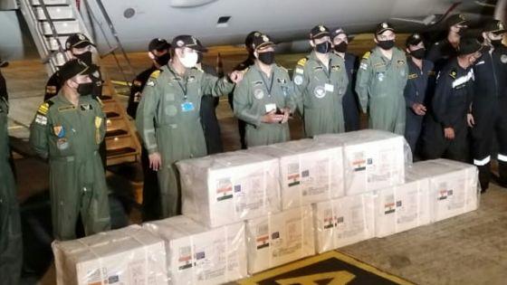 Arrivée à Maurice des vaccins anti-Covid de l'Inde