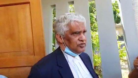 «Le ministre Yogida Sawmynaden doit démissionner», dit Me Rama Valayden