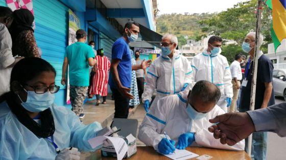 Tests PCR à Vallée-Pitot : Reprise de l'exercice ce vendredi