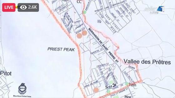 Covid-19 : La région de Vallée-des-Prêtres décrétée zone rouge