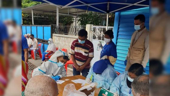 Covid-19 : Près de 800 personnes se sont soumises au test PCR ce jeudi à Vallée-Pitot