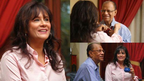 Veena Ramgoolam apporte son soutien à son époux Navin sur Facebook