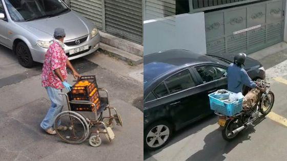 Port-Louis : des 'marchands' improvisés dans les rues