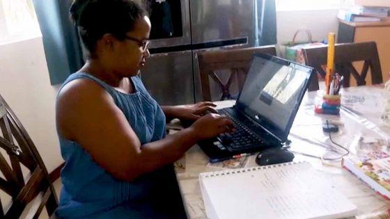 Confinement : Le télétravail, « c'est un challenge…», confie Véronique, mère de famille