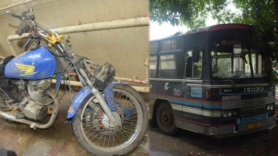 La Chaumière : un motocycliste meurt après une collision avec un bus