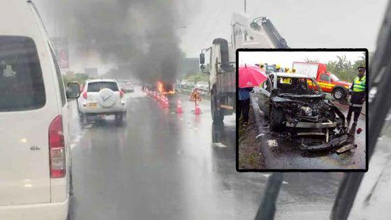 Rose-Belle : un homme meurt carbonisé dans sa voiture