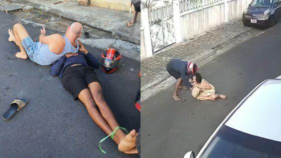 Port-Louis : un voleur attaque sauvagement une dame avant d'être mis K.-O.