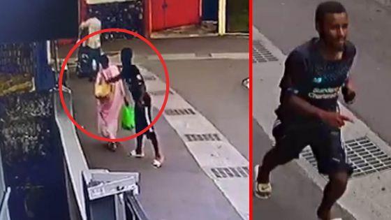 Ste-Croix : cet homme va voler le porte-monnaie de cette dame