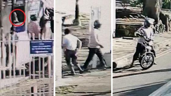 Pamplemousses : il est filmé en train de prendre l'argent qu'un client a oublié de collecter d'un ATM