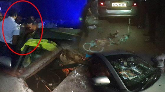 Vols de câbles de cuivre : deux voleurs pris en flagrant délit à Ste-Croix, leur voiture saccagée