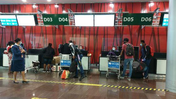 [En images] Un premier vol pour Rodrigues après plus de trois mois d'interruption