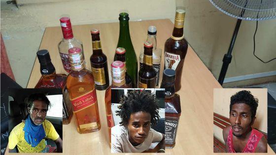 Vol de Rs 700 000 de boissons alcoolisées : les trois suspects passent aux aveux