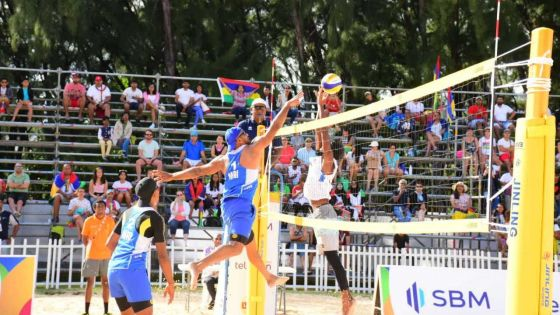 JIOI - Beach-Volley : Maurice perd le Golden match face aux Maldives