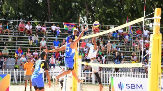 JIOI - Beach-Volley : Maurice perd le Golden match face aux Maldives
