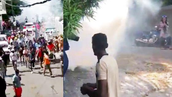 Reconstitution des faits : l'utilisation de gaz lacrymogène à Vallée-Pitot dénoncée par des habitants