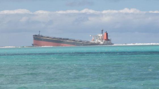 Wakashio : plus de déversement d'hydrocarbure de la cuve endommagée, affirme le PMO