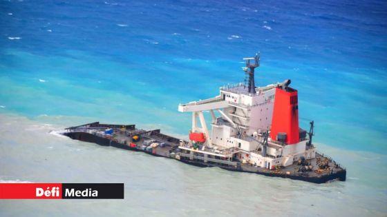 Wakashio : de mystérieuses traces noirâtres, selon Forbes ; le ministère de l'Économie océanique affirme qu'il n'y a aucun déversement de l'épave