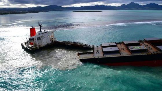 Cour d'investigation sur le Wakashio : des traces d'huile observées dans la mer en mai