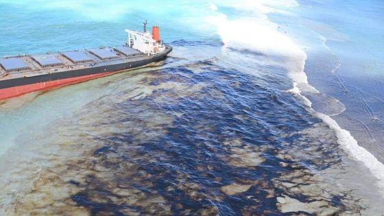 La fuite d'huile du Wakashio sur BBC