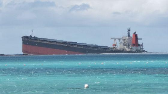 Navire échoué à Pointe-d'Esny : le capitaine du Wakashio et ses trois assistants seront entendus par la police mauricienne sous peu