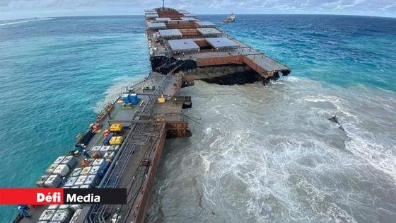 Wakashio : 5 compagnies ont soumis leurs offres pour le retrait des restes de l'épave