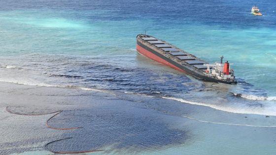 La fuite d'huile du Wakashio qualifiée de «catastrophe écologique» par Kauppaymuthoo