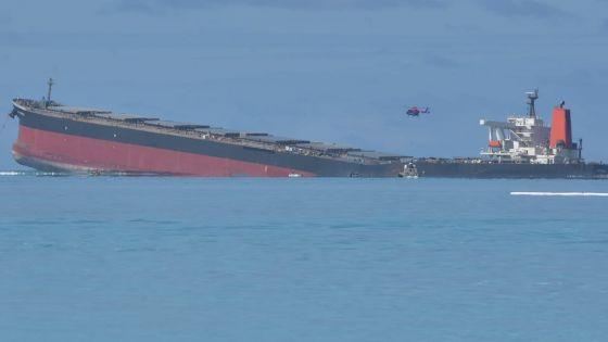 Wakashio : opération pour enlever les dernières poches de fioul sur le navire