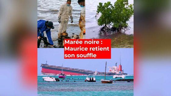 Marée noire : Maurice retient son souffle
