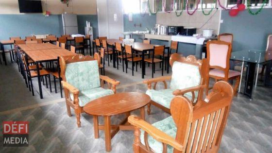 La New Wing Prison transformée en centre d'isolement pour prisonniers