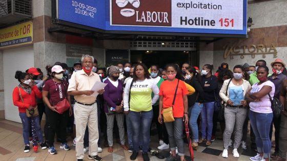 Licenciements  : des ressortissants malgaches au ministère du Travail