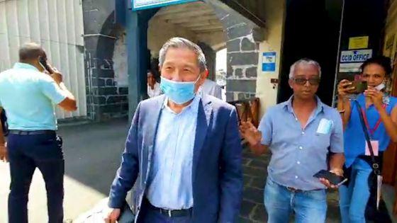Kee Chong Li Kwong Wing entendu au CCID