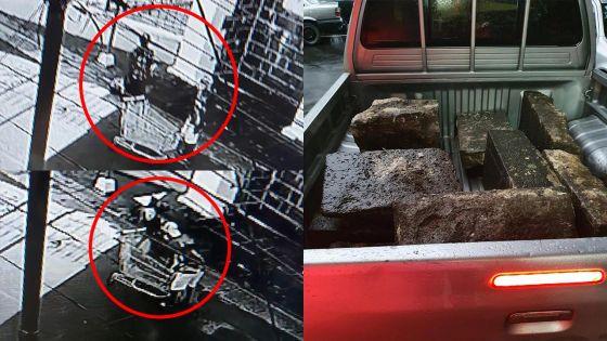 Vol des marches de l'église Notre-Dame-du-Rosaire : un suspect arrêté, les pierres récupérées