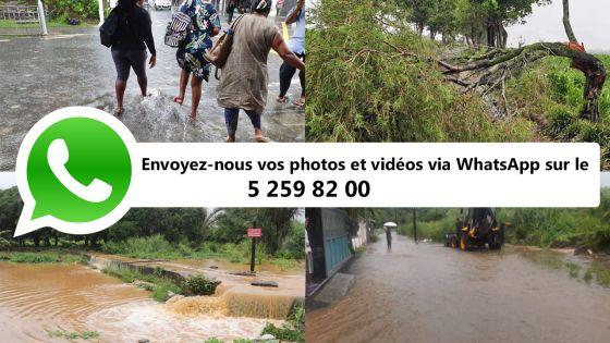 Dépression tropicale : notre service WhatsApp à votre disposition pour mieux vous informer et vous accompagner