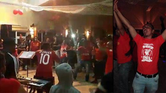 À Rodrigues : les fans de Liverpool ont encore fait la fiesta samedi soir
