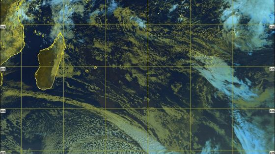 Météo : un assez fort anticyclone s'approche de Maurice, entre 14 et 17 degrés Celsius ce soir