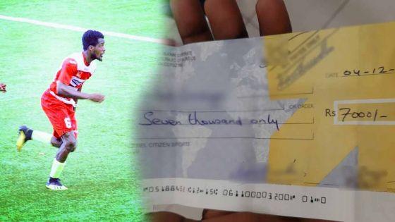La déception d'un footballeur ivorien qui touche Rs 7 000 à Maurice
