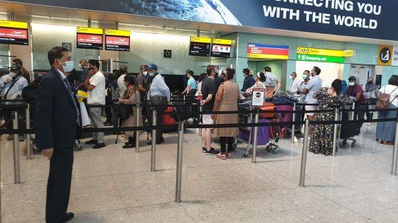 Rapatriement : 157 Mauriciens sont rentrés au pays ce dimanche