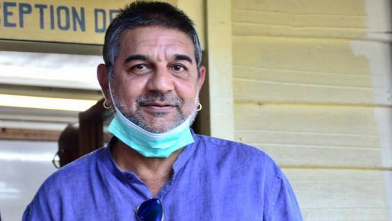 Dhiren Moher arrêté par le CCID
