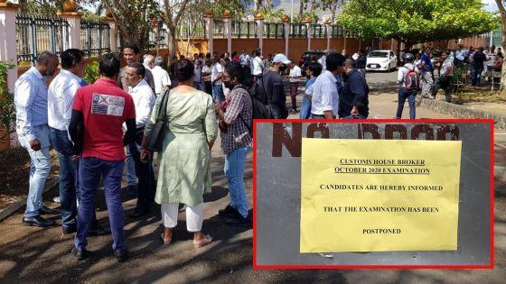 Courtier Maritime : L'examen renvoyé, les candidats pas informés